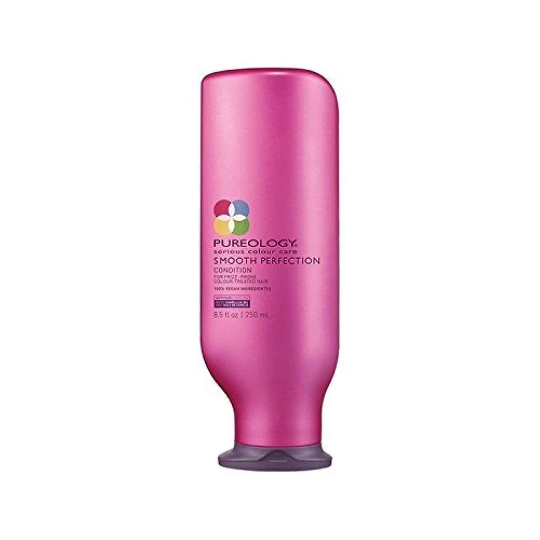 茎しばしばドル平滑完全コンディショナー(250ミリリットル) x4 - Pureology Smooth Perfection Conditioner (250ml) (Pack of 4) [並行輸入品]