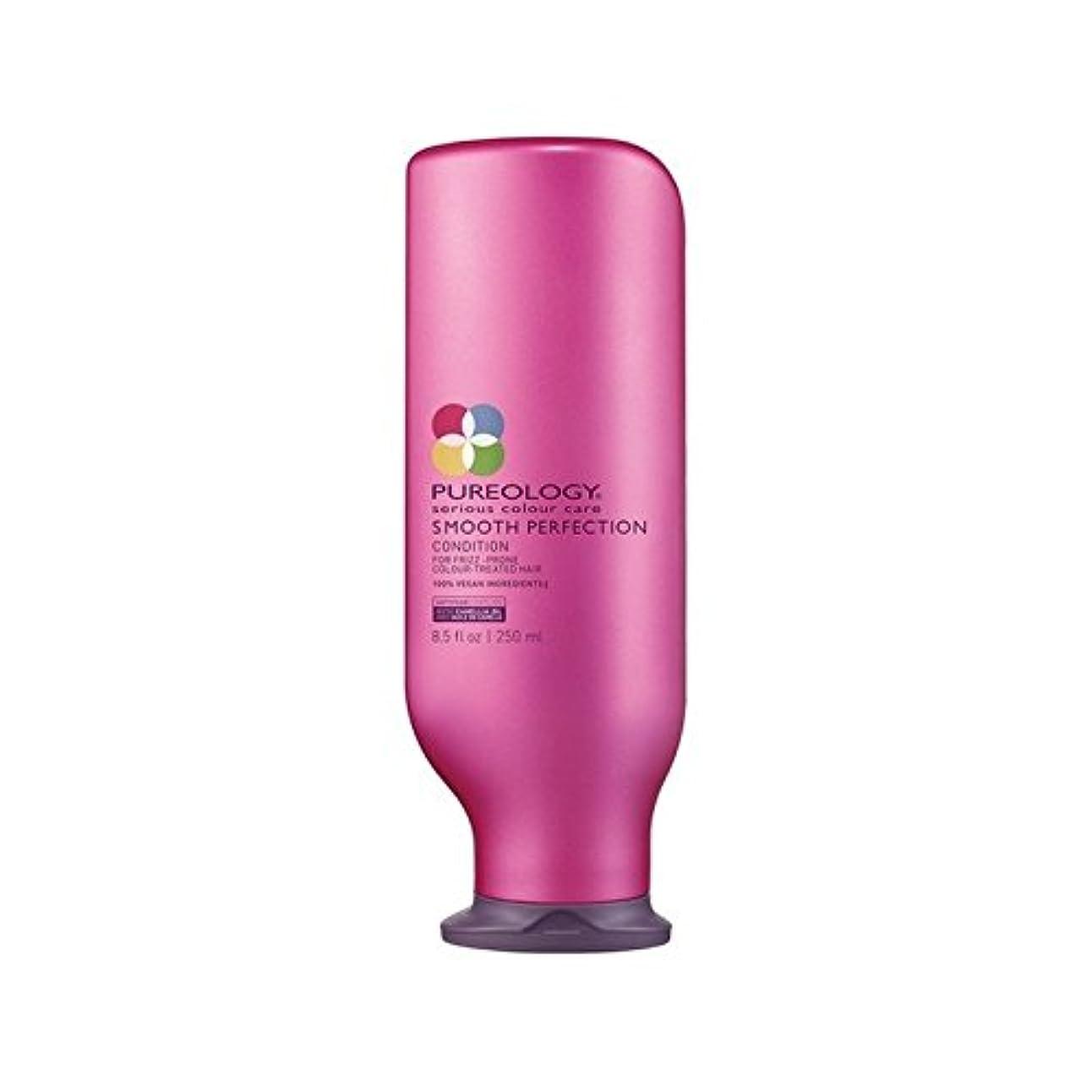 臭い熱心伝染病Pureology Smooth Perfection Conditioner (250ml) - 平滑完全コンディショナー(250ミリリットル) [並行輸入品]