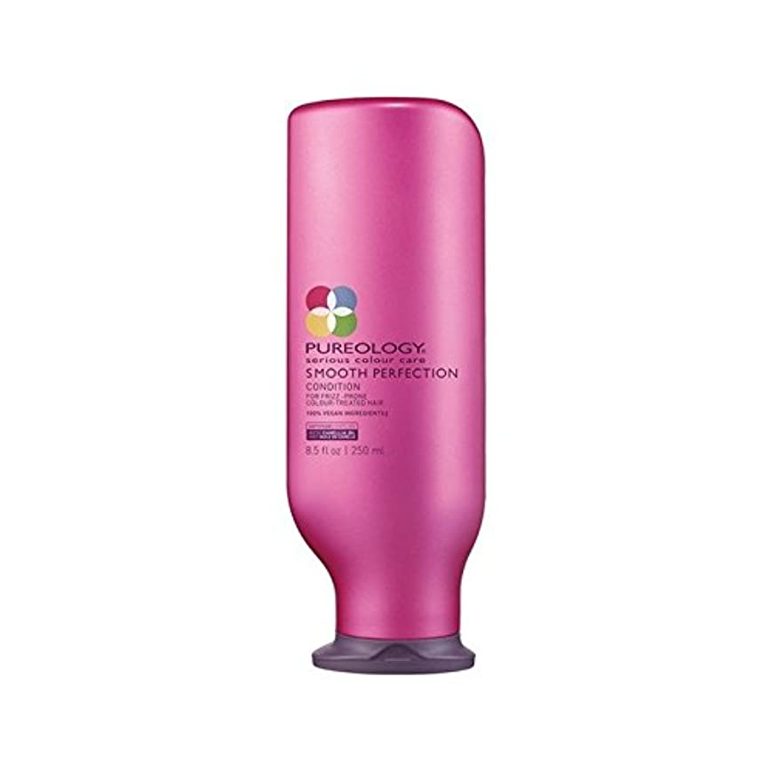 ヒューズ傘債務Pureology Smooth Perfection Conditioner (250ml) - 平滑完全コンディショナー(250ミリリットル) [並行輸入品]