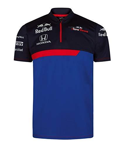 [ Toro Rosso ] トロロッソ ホンダ F1 Racing Team 2019 オフィシャル ファンクショナル Tシャツ (M身幅52c...