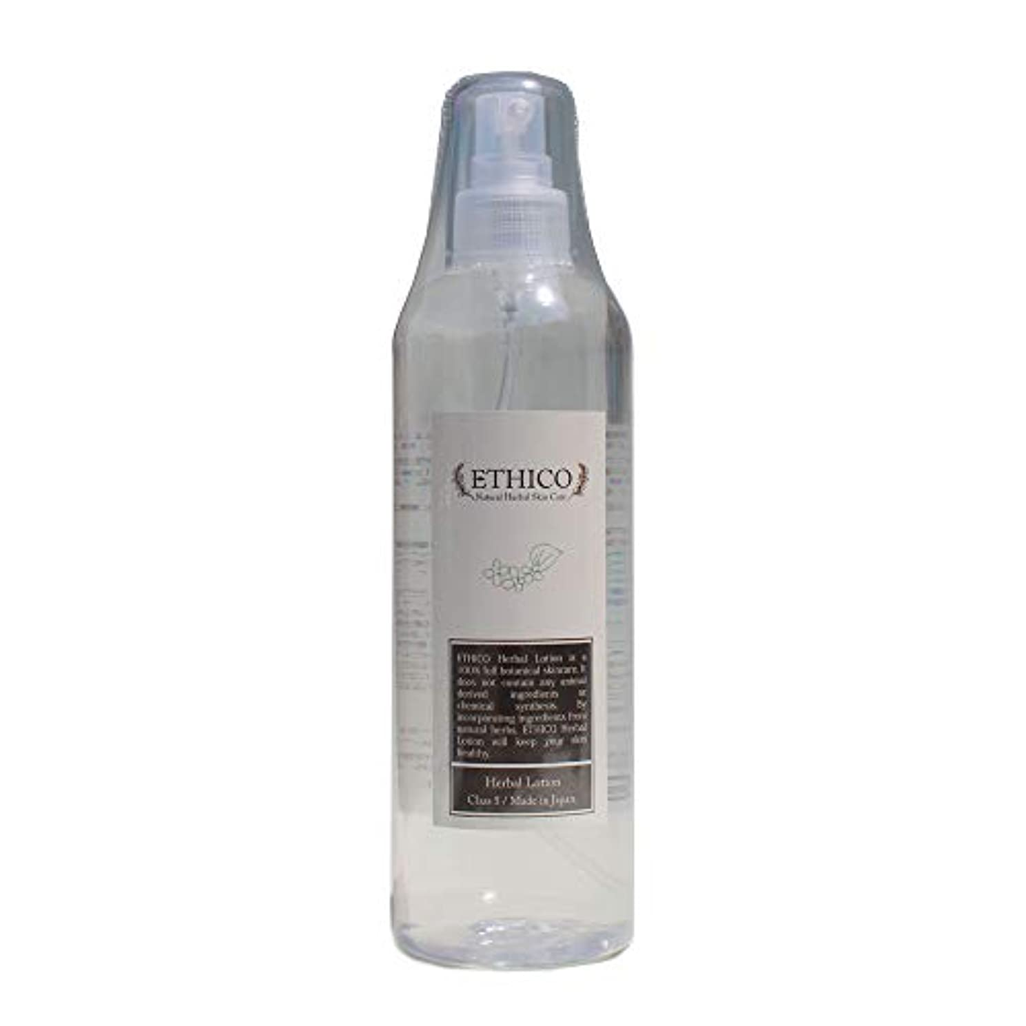 詳細なパトワ識別ETHICOハーバル化粧水 どくだみ 300mL