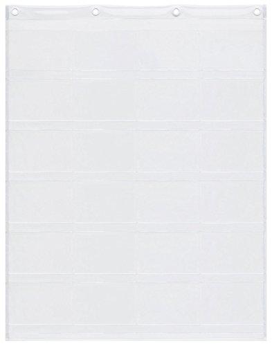 サキ ウォールポケット ポストカード展示用 ヨコ型 24ポケ...