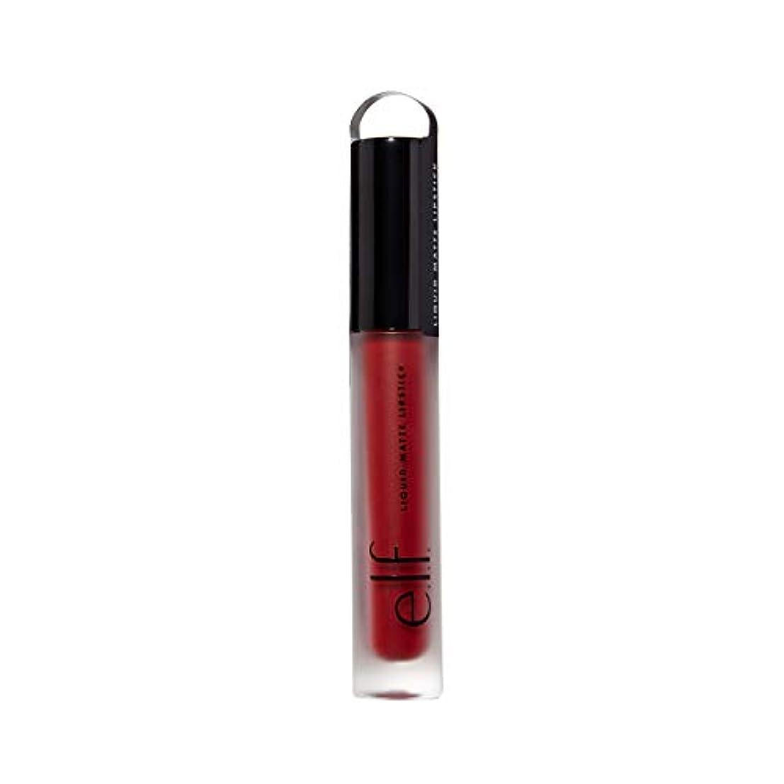 死にかけているこれら幻影e.l.f. Liquid Matte Lipstick - Red Vixen (並行輸入品)