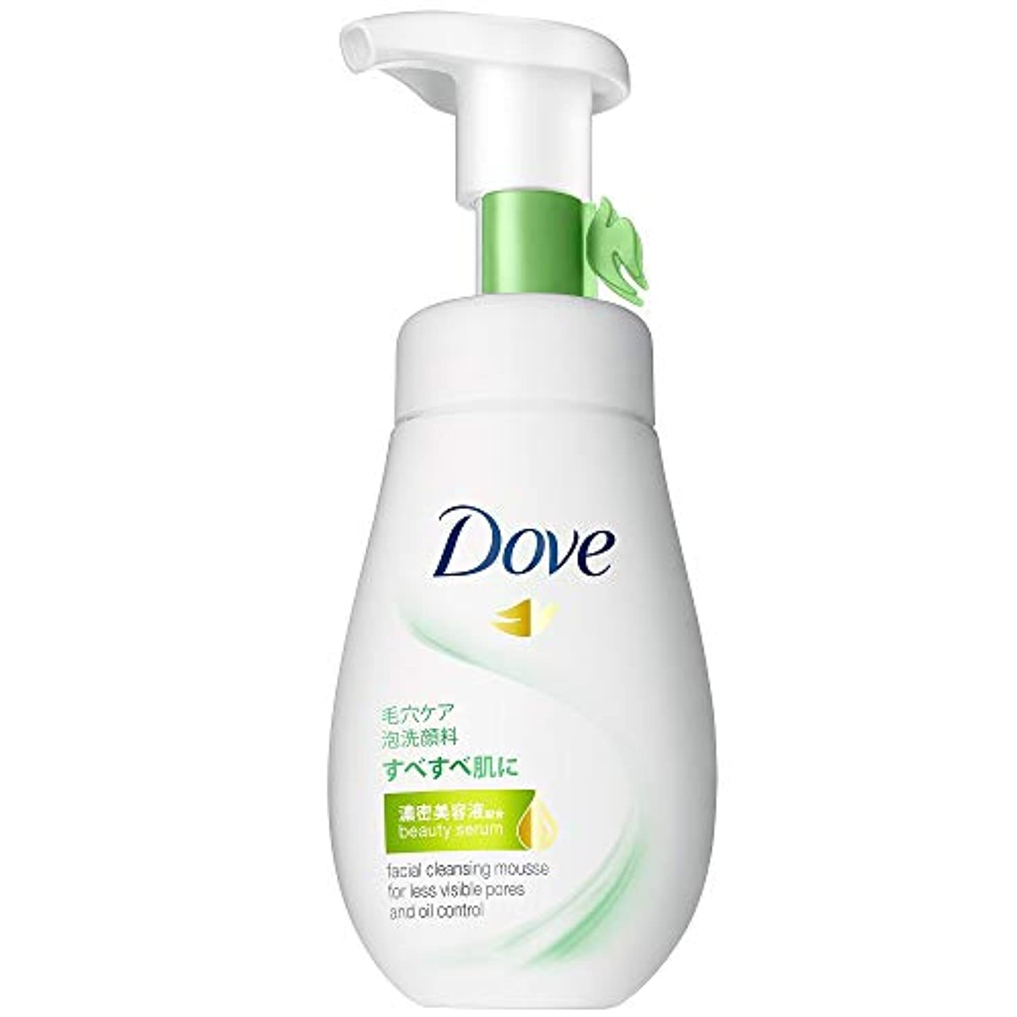 例外すべき最少ダヴ ディープピュア クリーミー泡洗顔料