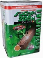 木が香る木材保護含浸塗料 高耐侯・高含浸タイプ 屋外用 ノンロット205N Zカラー ZS-GG グラスグリーン 14L