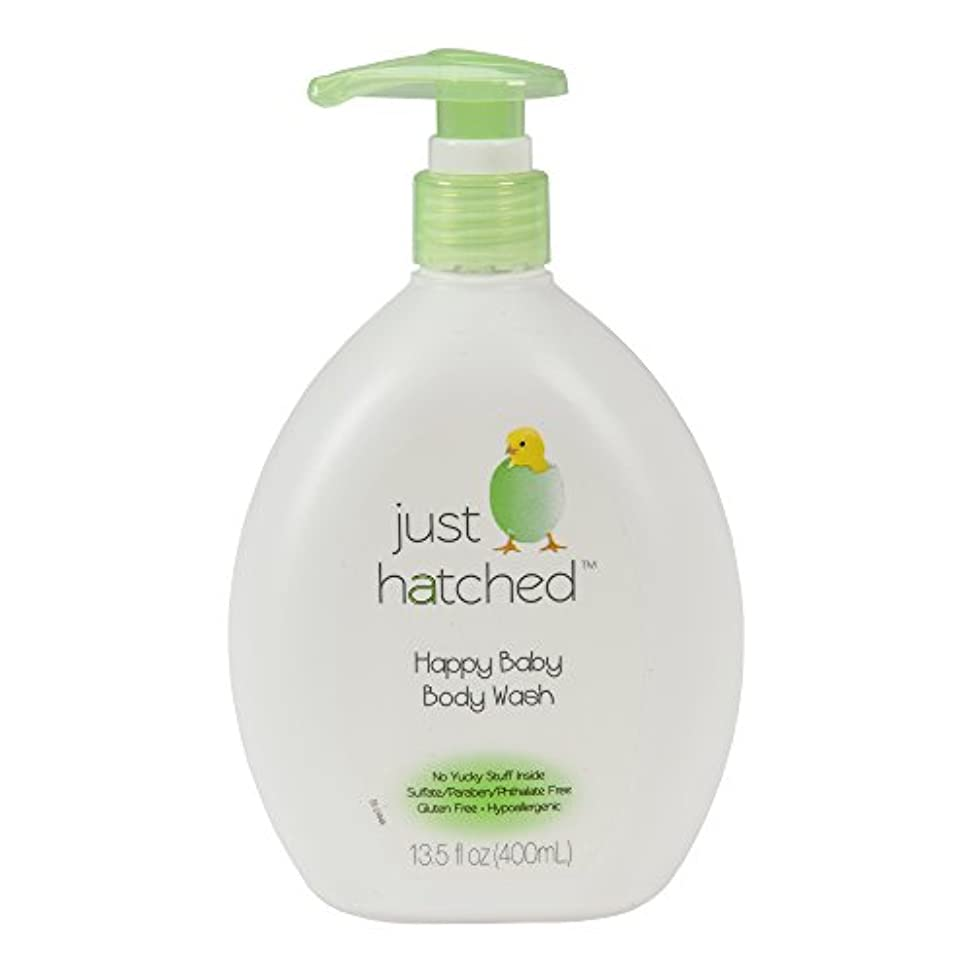 Just Hatched Happy Baby Body Wash, 13.5 Ounce by Just Hatched