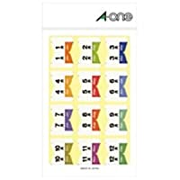 (業務用200セット) エーワン インデックスシール/ラベルシール 【月別/72片入り】 02101 ×200セット