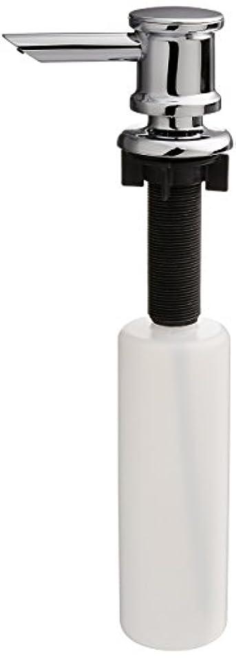 提供部屋を掃除するビザ(Chrome) - Delta Faucet RP46114 Soap/Lotion Dispenser, Chrome