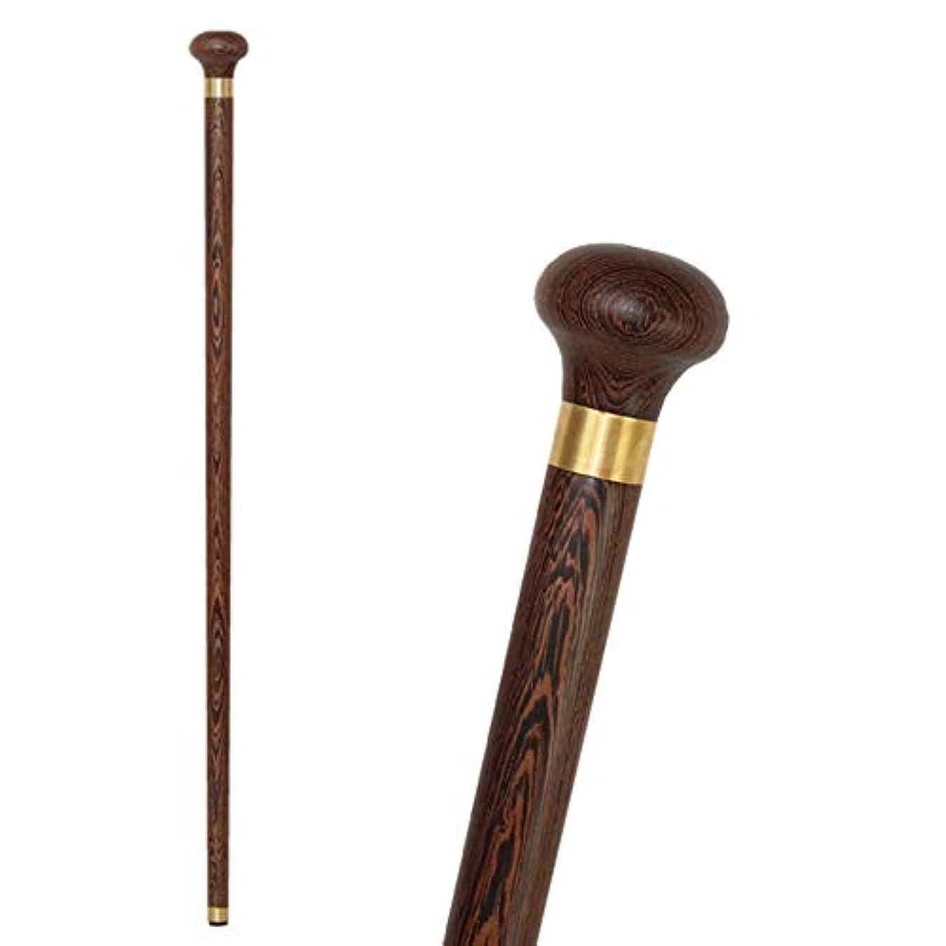 血統掃除アウターYADANER ステッキ 杖, 木製杖, レッドローズウッドラウンドヘッド高齢者ウォーキングエイドケイン
