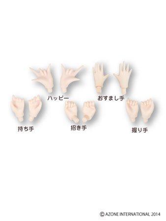 ピュアニーモフレクションハンドパーツSET/A 白色