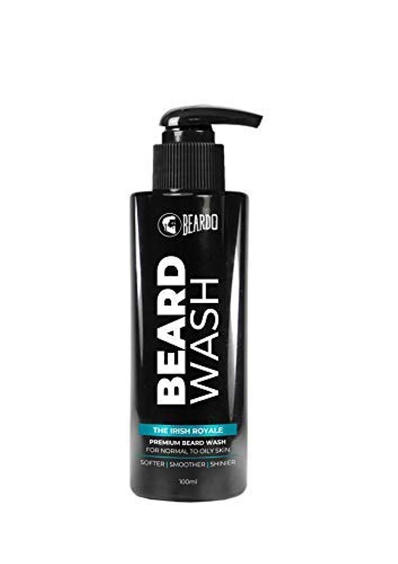 かわいらしい祖父母を訪問食物Beardo Beard Wash (The Irish Royale) - 100 ml With Natural Ingredients - Nutmeg, Clove and Lime