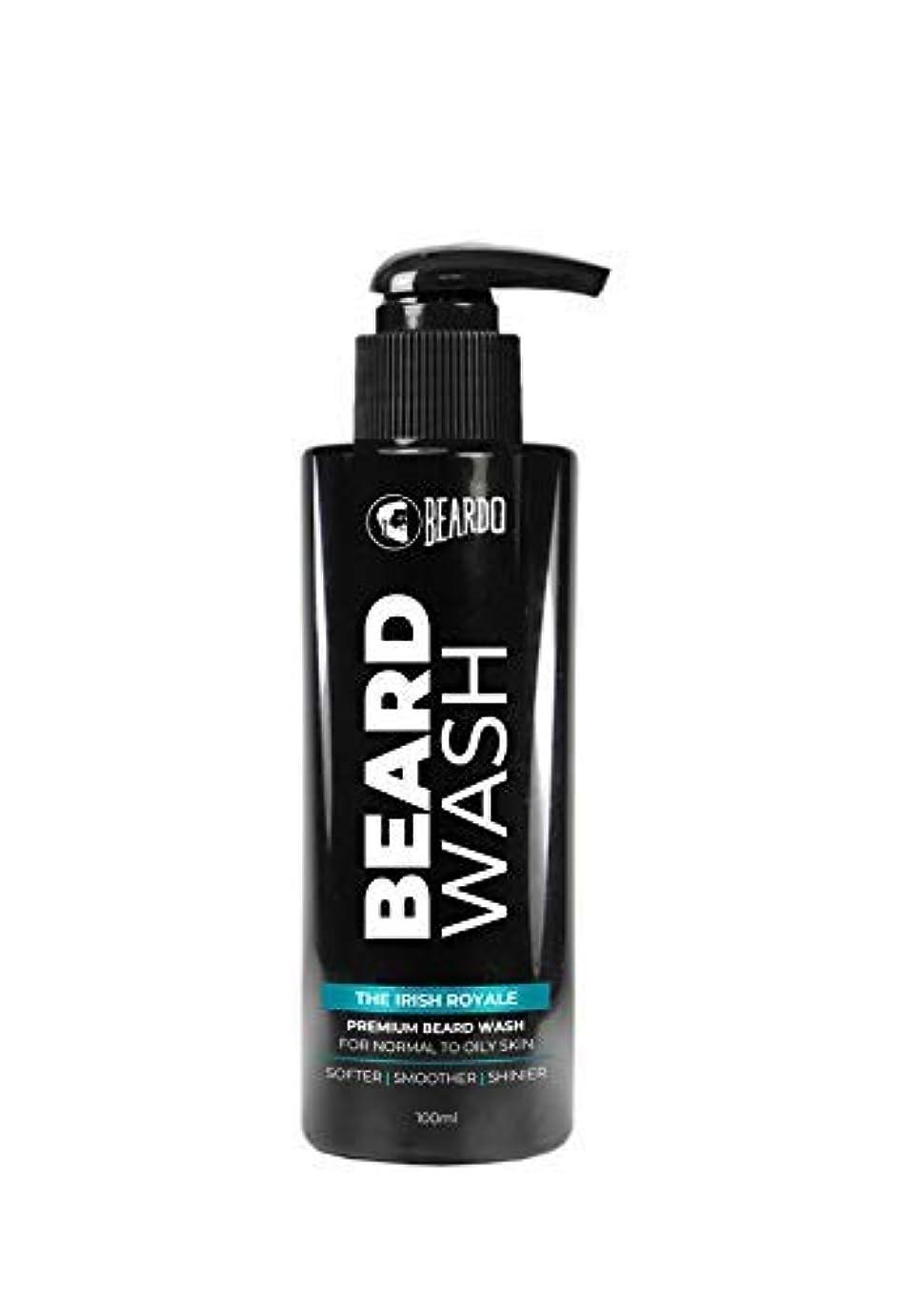 アトラスめる分析するBeardo Beard Wash (The Irish Royale) - 100 ml With Natural Ingredients - Nutmeg, Clove and Lime