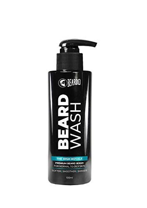 アイザック第二日食Beardo Beard Wash (The Irish Royale) - 100 ml With Natural Ingredients - Nutmeg, Clove and Lime