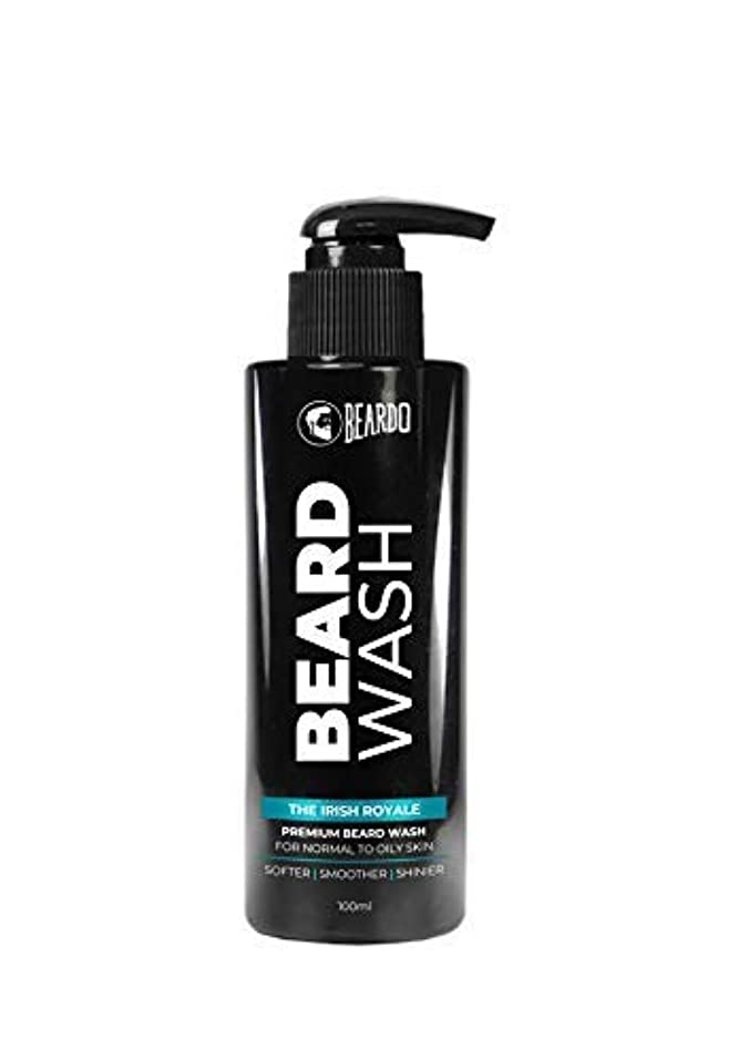 Beardo Beard Wash (The Irish Royale) - 100 ml With Natural Ingredients - Nutmeg, Clove and Lime
