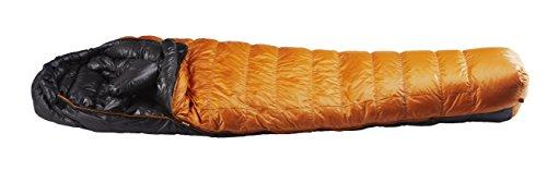イスカ(ISUKA) 寝袋 エア 630EX ゴールド [最低使用温度-15度]