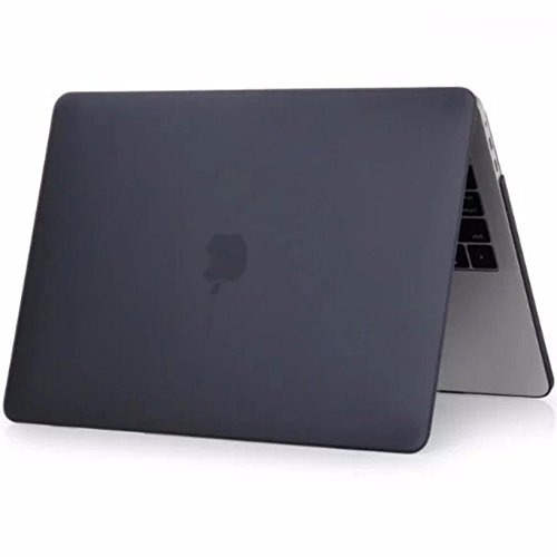 MBP13MB【実機検証済み】【 2016 / 2017 MacBook Pro Ratina 13.3 Matte マット Black ブラック 黒 】2016以降 Touch Bar搭載モデル ケース 高品質シェルカバー 超薄型 超軽量 耐衝撃 ハードケース hard shell cover case(対応モデル:2016 / 2017 MacBook Pro Touch Bar搭載モデル model number A1706 / A1708)【日本語説明書】+【design office work】オリジナルロゴ クリーニングクロス(19×19cm)付 (Macbook Pro Ratina Touch Bar 13.3インチ, Matte マット【 Black ブラック 黒 】)