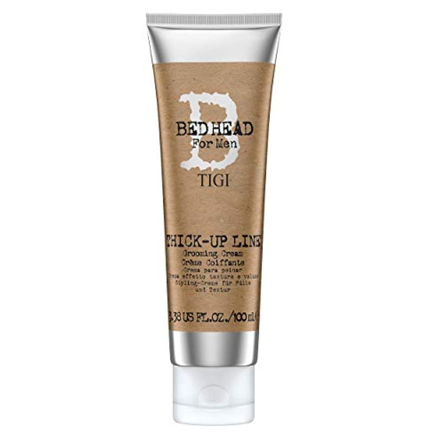 関連付ける妊娠した倒産ティジー Bed Head B For Men Thick-Up Line Grooming Cream 100ml/3.38oz並行輸入品
