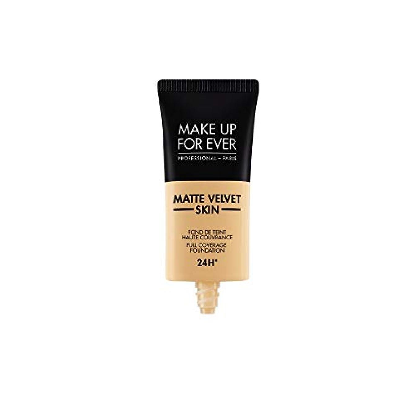 環境保護主義者墓地経過メイクアップフォーエバー Matte Velvet Skin Full Coverage Foundation - # Y255 (Sand Beige) 30ml/1oz並行輸入品