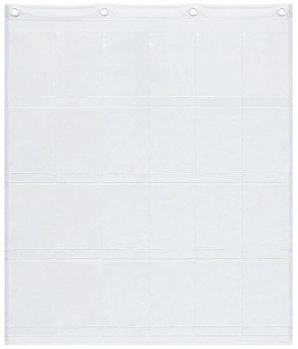 サキ ウォールポケット ポストカード展示用 タテ型 24ポケ...