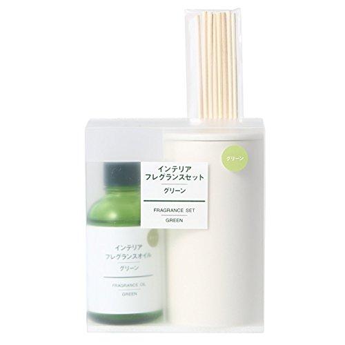 無印良品 インテリアフレグランスセット・グリーン グリーン 日本製