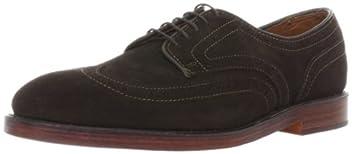 Allen Edmonds Player's Shoe: Bitter Chocolate Suede 9762