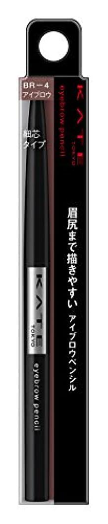 ビル達成可能挑発するケイト アイブロウペンシルA BR-4 赤味のある自然な茶色