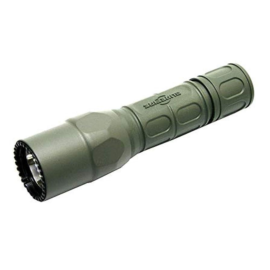 博物館矢続けるSUREFIRE シュアファイア G2X PRO Dual Output LED 600lm G2X-D-FG フラッシュ ライト 600ルーメン グリーン 緑 G2XDFG [並行輸入品]