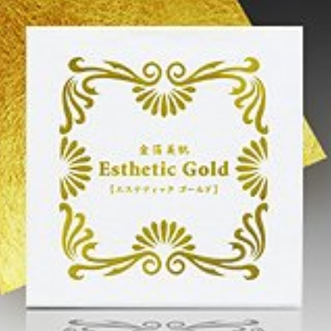 破壊的一般的なオーナー【金箔 美肌】エステティック ゴールド 24K-10枚入【日本製】