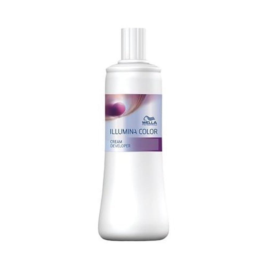 有毒なソブリケットアクセスウエラ イルミナカラー クリーム ディベロッパー 3% 1000ml(2剤)