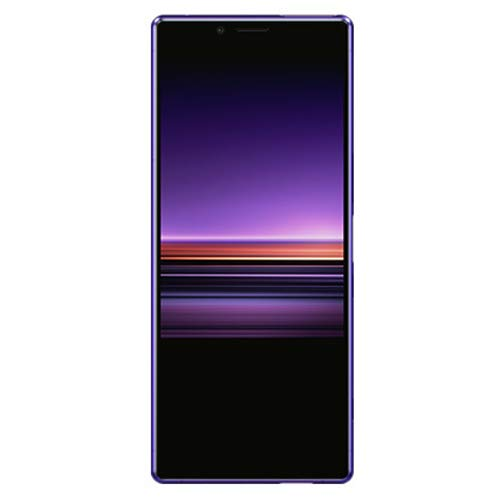Sony XPERIA 1 Dual SIM (J9110) 128GB/6GB (Purple/パープル) SIMフリー【並行輸入品】