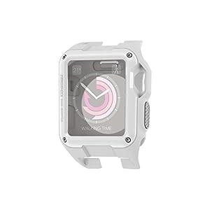 エレコム Apple Watch ケース 38mm ZEROSHOCK ホワイト AW-38ZEROWH