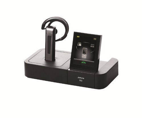 [해외]Jabra Bluetooth 헤드셋 Go 6470 with 터치 스크린 for Deskphone~ Softphone &  휴대 전화/Jabra Bluetooth Headset Go 6470 with Touch Screen for Deskphone~ Softphone &  Mobile Phone