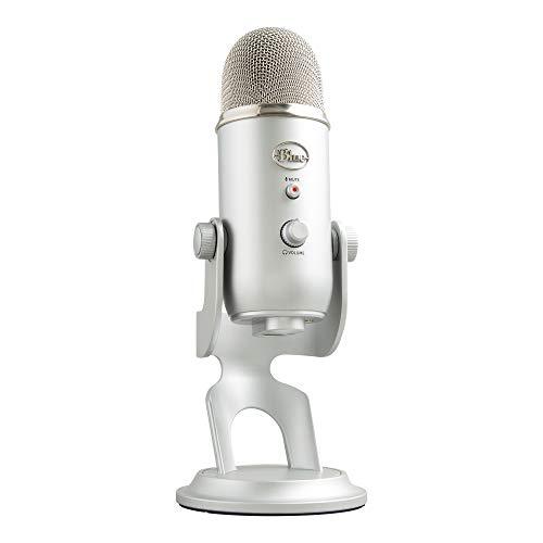 Blue Microphones Yeti USBマイク【日本正規代理店品・メーカー2年保証】シルバー 指向性4モード