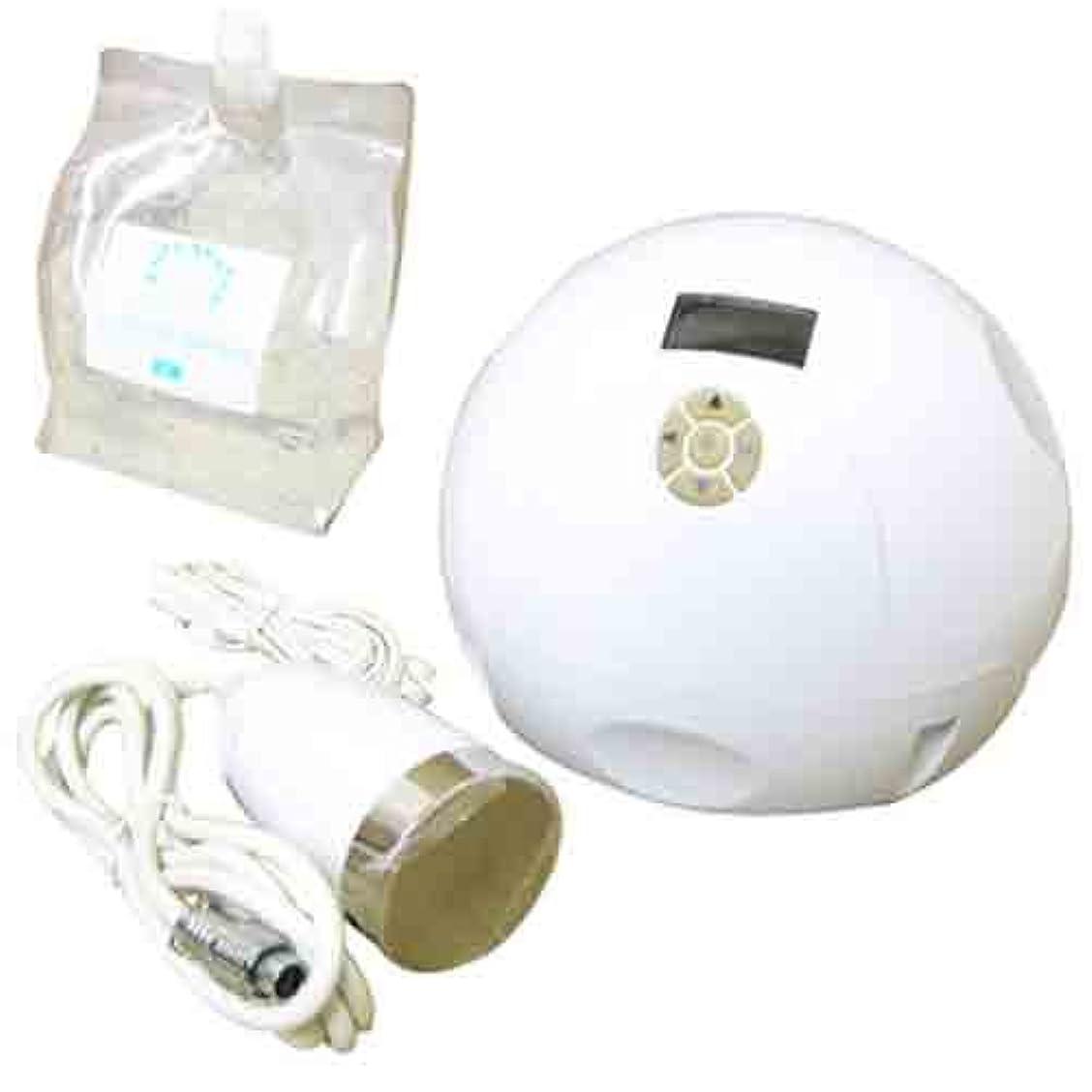 敬意を表する希少性ロボット家庭用美容器キャビテーション mini-MAX+キャビ&フラッシュジェル〈スーパーハード〉3L付き