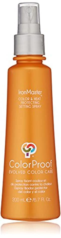 キロメートル先例額ColorProof Evolved Color Care ColorProof色ケア当局IronMaster色&熱は、6.7 FLを設定するスプレーを保護します。オズ。 オレンジ