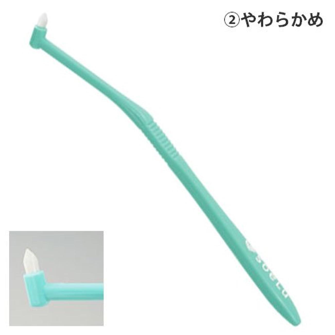 可愛い韻物理的なソエル 歯ブラシ PLUSやわらかめ