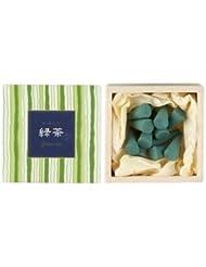 日本香堂 かゆらぎコーン 緑茶
