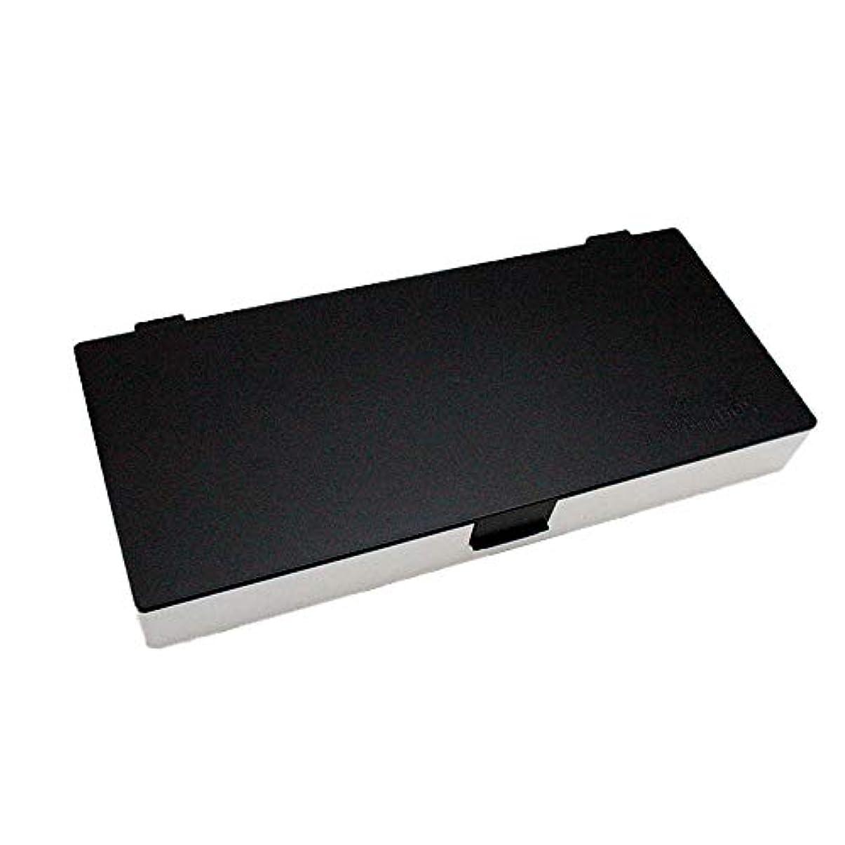 水曜日成熟疎外するアップスタイリングシステムボックス (白黒) ノンスリップ ヘアピン ケース コスメボックス メイクボックス メークボックス メイクケース メークケース