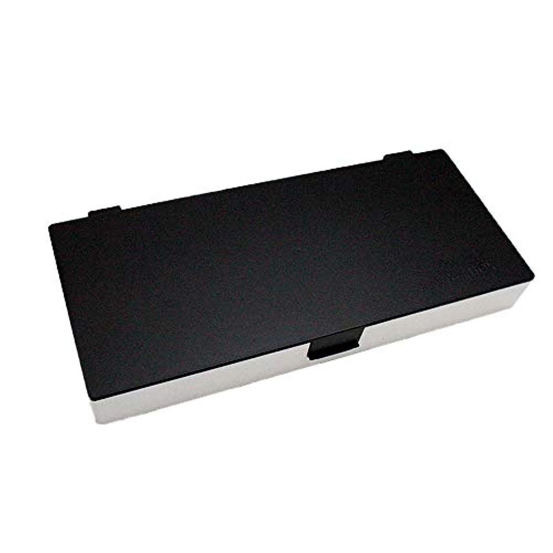 高潔な物足りない感情アップスタイリングシステムボックス (白黒) ノンスリップ ヘアピン ケース コスメボックス メイクボックス メークボックス メイクケース メークケース