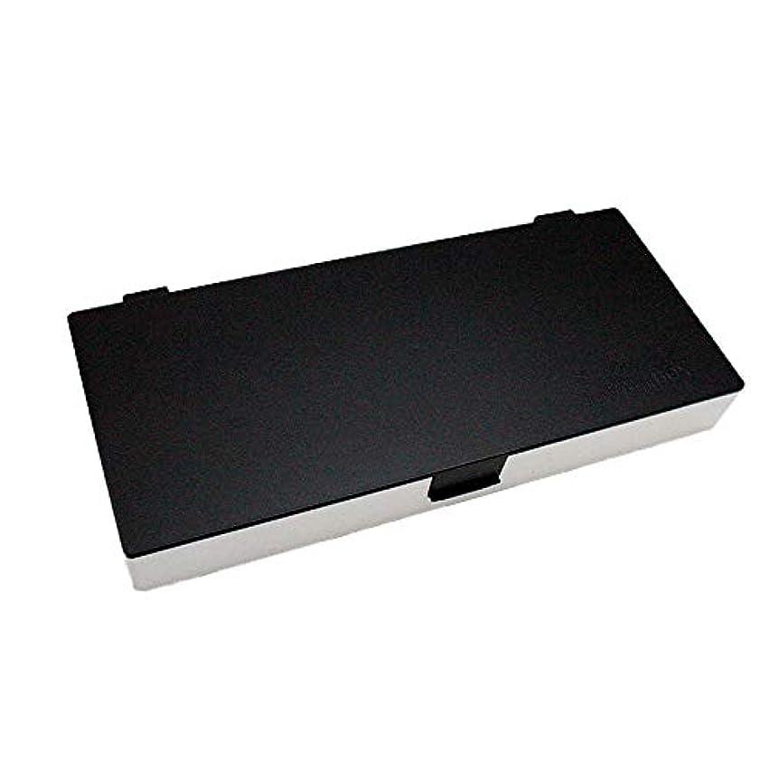 お別れおびえたアカデミックアップスタイリングシステムボックス (白黒) ノンスリップ ヘアピン ケース コスメボックス メイクボックス メークボックス メイクケース メークケース