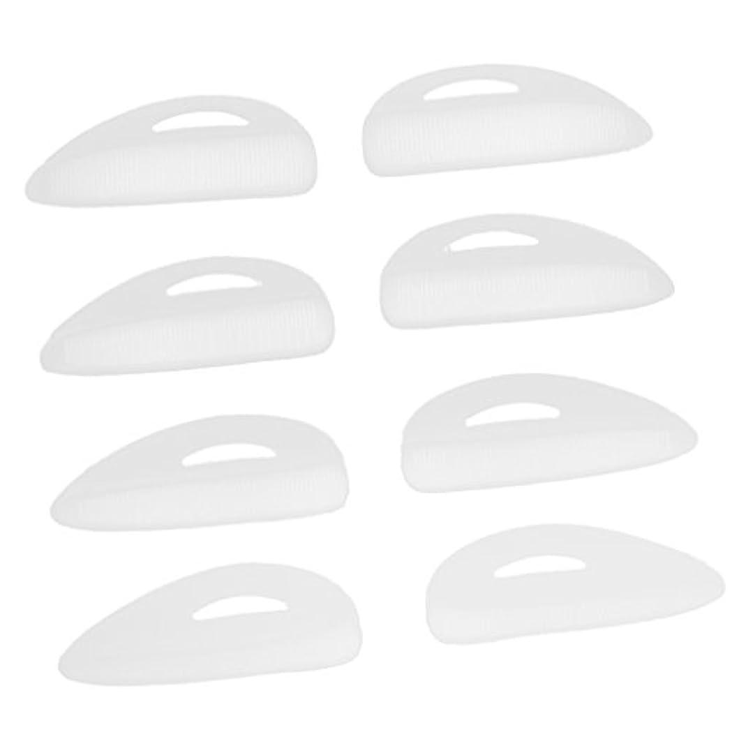 ご近所足枷ラフレシアアルノルディ4ペア つけまつげパッド アイラッシュ まつげ カーラーパッド 再利用可 シリコン エクステンションシールド 化粧ツール
