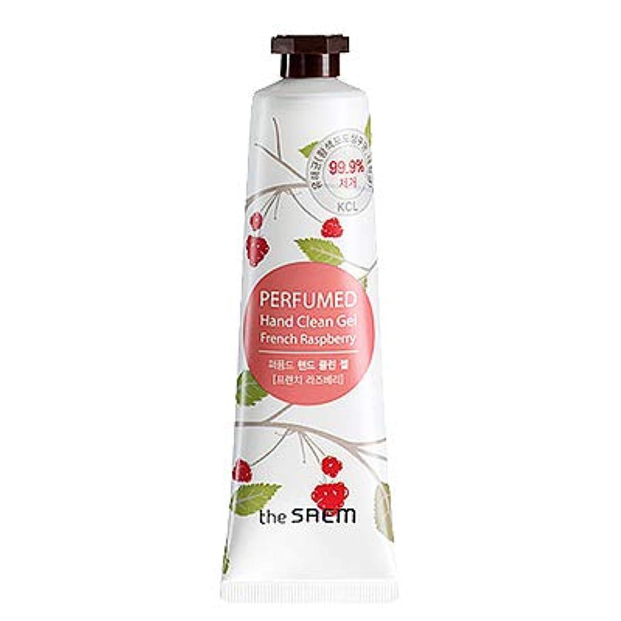 アジアリンス詩人theSAEM ザセム パヒューム ハンド クリーン ジェル PERFUMED HAND CLEAN GEL CREAM 韓国コスメ (F-French Raspberry(フレンチラズベリー))