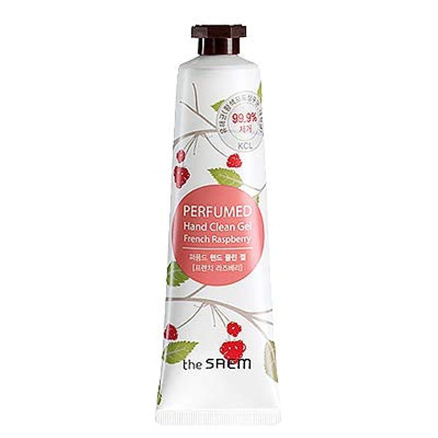 硬化する役立つ既にtheSAEM ザセム パヒューム ハンド クリーン ジェル PERFUMED HAND CLEAN GEL CREAM 韓国コスメ (F-French Raspberry(フレンチラズベリー))