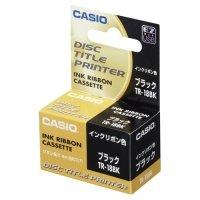 カシオ DISCタイトルプリンター インクリボンカセット ブラック 1個