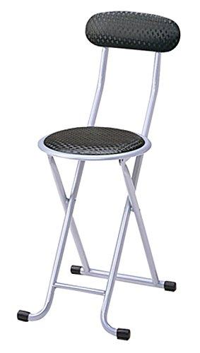 椅子 折り畳み イス ブラック PFC-10 (BK)