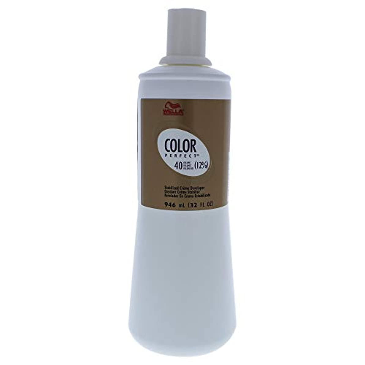 クーポン歌消えるColor Perfect Stabilized Cream Developer 12 Percent 40 Vol