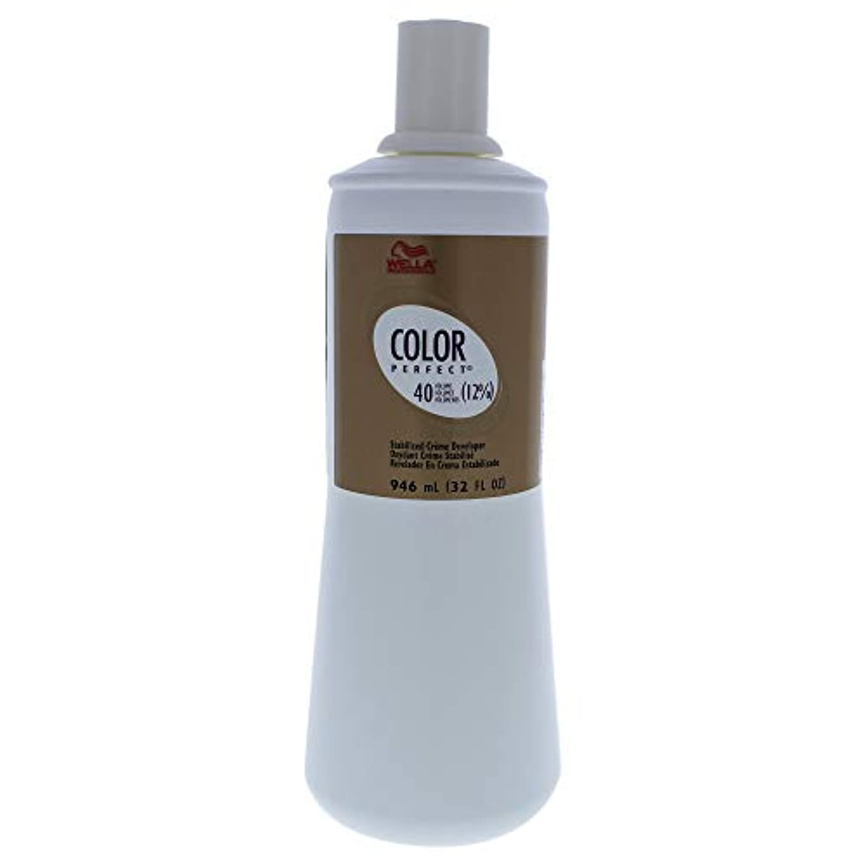 つかの間失業者健全Color Perfect Stabilized Cream Developer 12 Percent 40 Vol