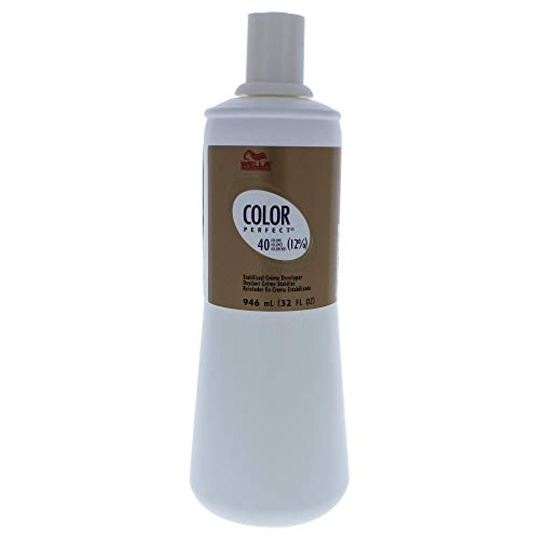 泥棒ちょうつがい帝国Color Perfect Stabilized Cream Developer 12 Percent 40 Vol