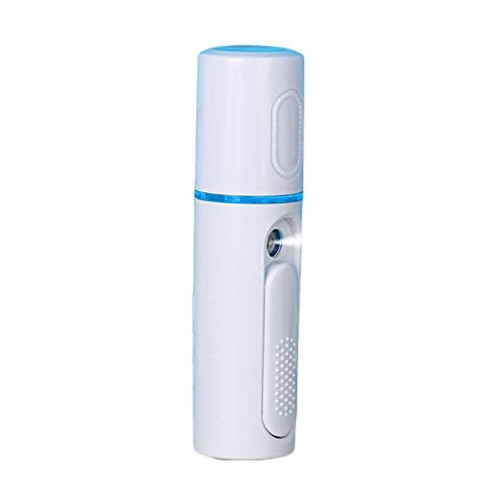困惑建築家アラート美顔器 噴霧式 ミニ携帯 ハンディ 美顔スプレー保湿 美白顔用加湿器 フェイススチーマー 補水美容器 小型 ナノミスト USB