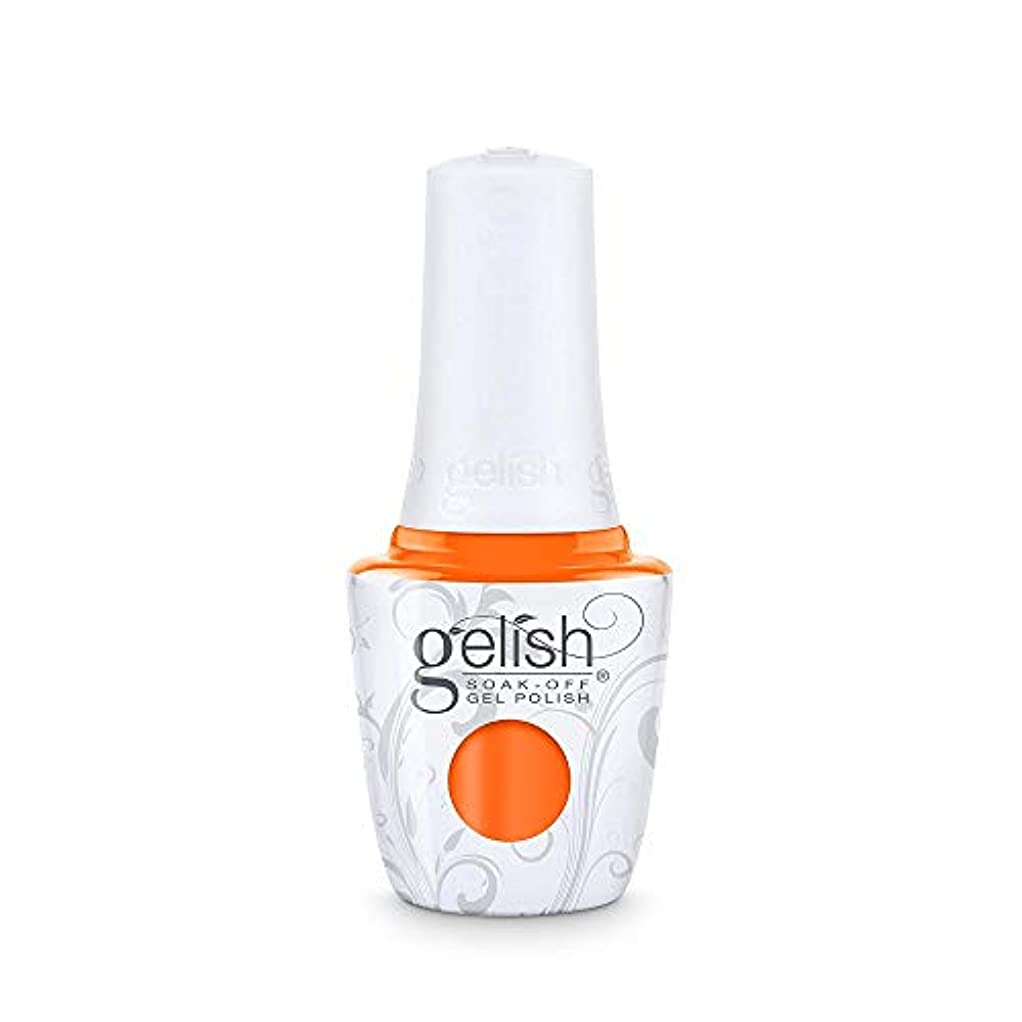 飢できない無許可Harmony Gelish - Make a Splash 2018 Collection - You've Got Tan-gerine Lines - 15 mL / 0.5 Fl. Oz.